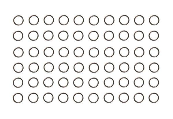Verbindungsring Biegering 0,6mm bronzefarben 60 Stück (0062)