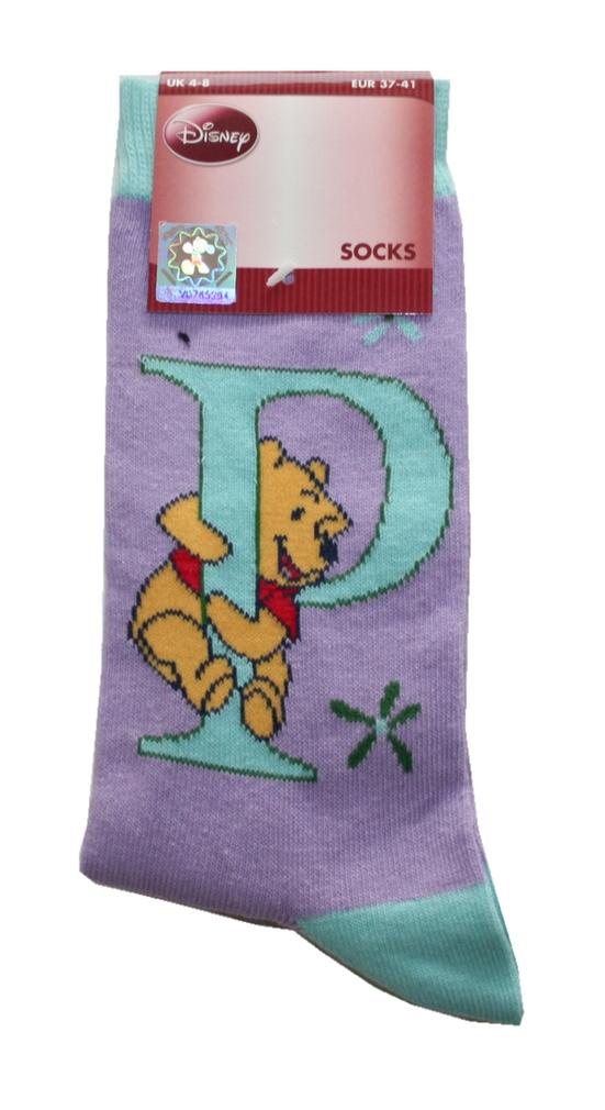 Damen Socken Walt Disney 37 / 41 Pu der Bär (0010)