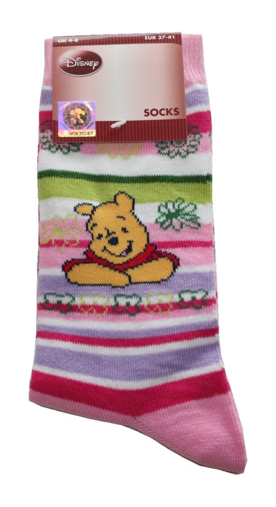 Damen Socken Walt Disney 37 / 41 Pu der Bär (0012)
