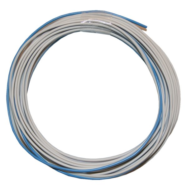Kabelring Kabel 2*0,14mm 5m weiß blau (0006)