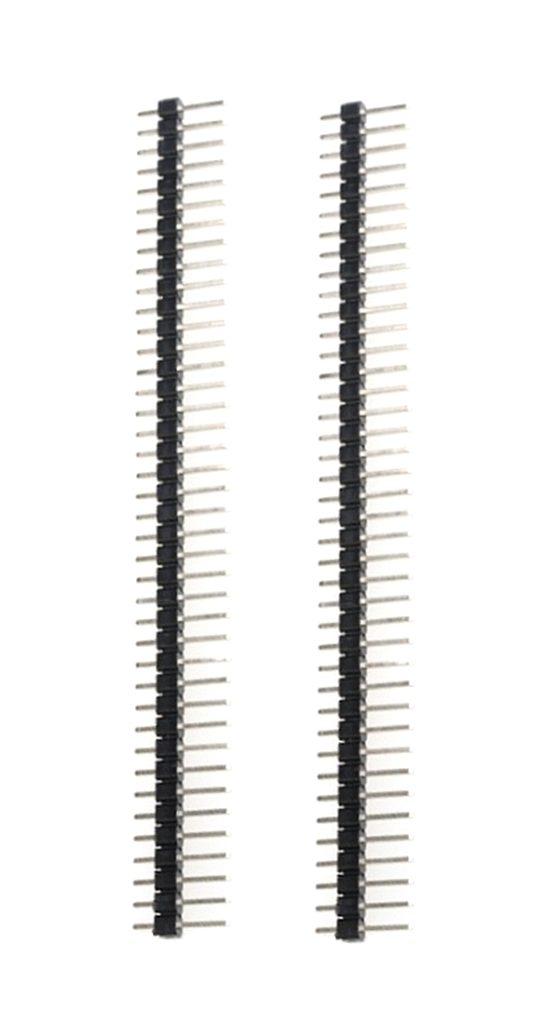 Stiftleiste Leiste 40 polig gerade 2,54mm 1-reihig 2 Stück (1263)