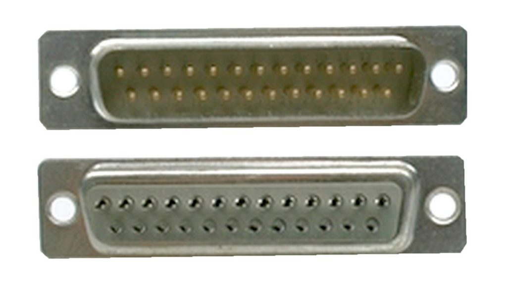 D-Sub Stecker 25 polig männlich Lötanschluss (0222)