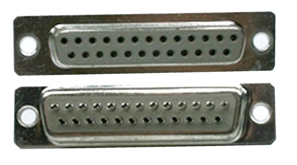 D-Sub Stecker 25 polig weiblich Lötanschluss (0223)