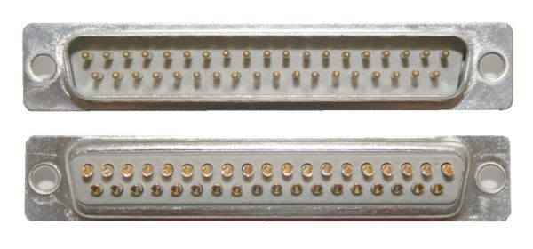 D-Sub Stecker 37 polig männlich Lötanschluss (0236)