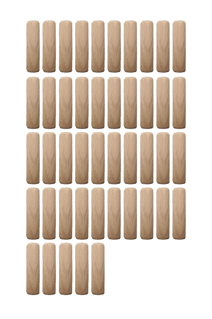Holzdübel Riffeldübel Holzverbinder FSC® 8x30mm 45 Stück (0003)