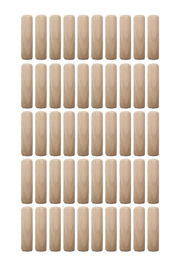 Holzdübel Riffeldübel Holzverbinder FSC® 10x60mm 50 Stück (0010)