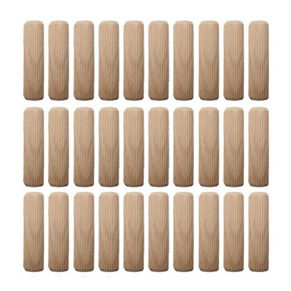 Holzdübel Riffeldübel Holzverbinder FSC® 12x80mm 30 Stück (0017)