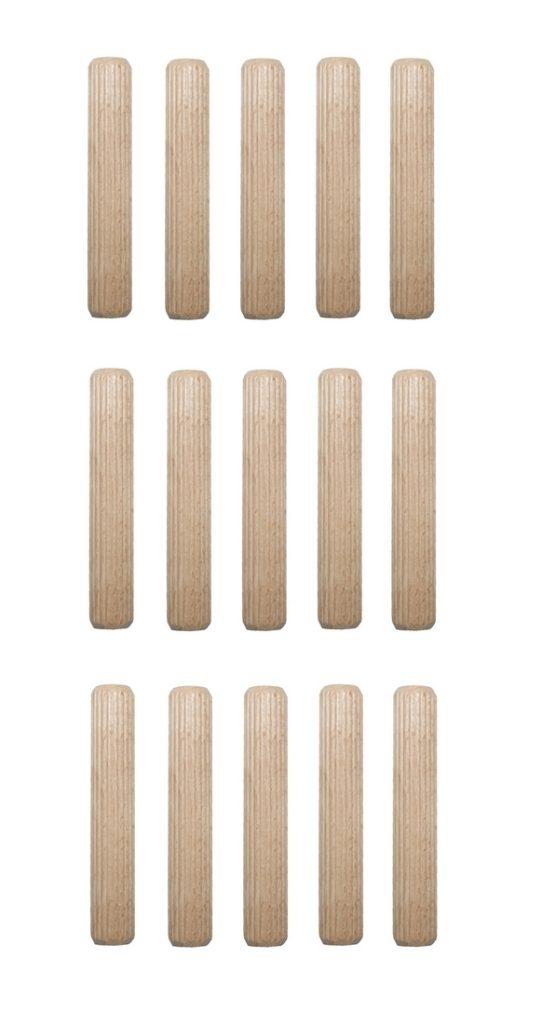 Holzdübel Riffeldübel Holzverbinder FSC® 16x65mm 15 Stück (0025)