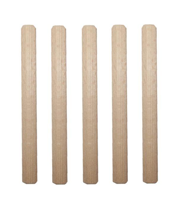 Holzdübel Riffeldübel Holzverbinder FSC® 16x140mm 5 Stück (0029)