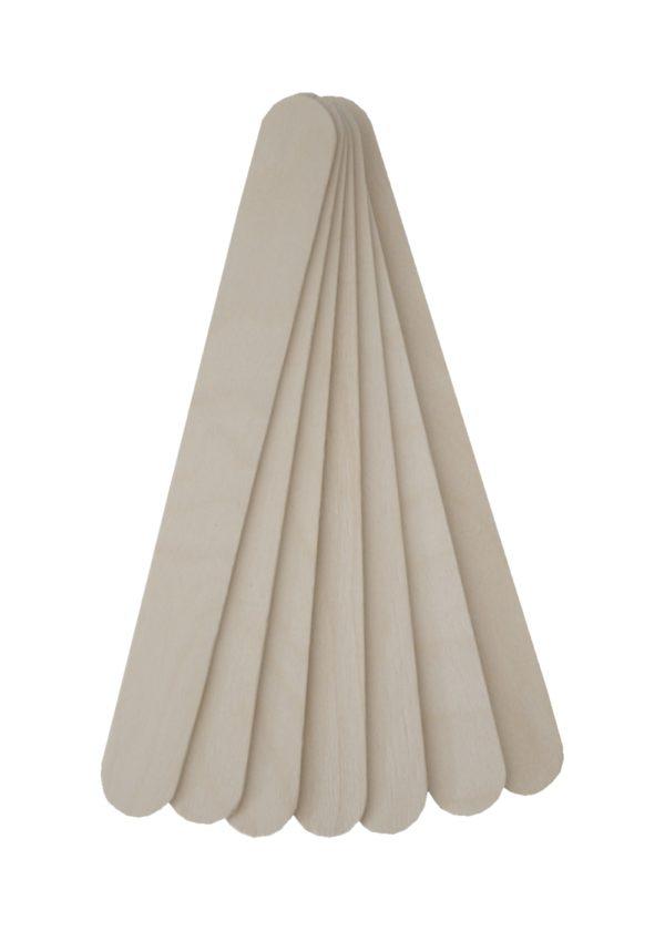 Holzspatel Bastelspatel Spatel Haarentfernung 100 Stück (0041)