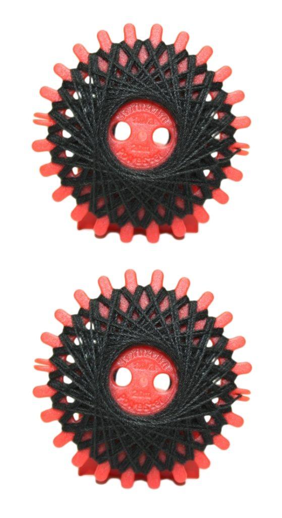 Sternzwirn Polyester 20/3 20 m schwarz 2 Stück (1001)