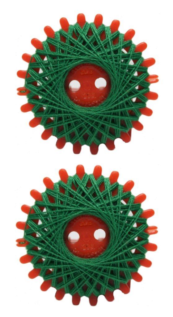 Sternzwirn Polyester 20/3 20m tannengrün 2 Stück (1051)