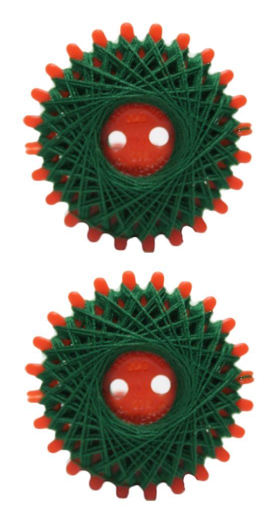 Sternzwirn Polyester 20/3 20m tannengrün 2 Stück (1054)