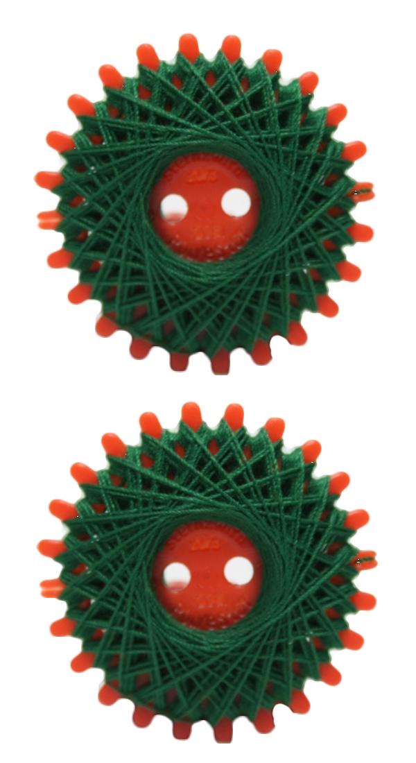 Sternzwirn Polyester 20/3 20 m grün 2 Stück (1055)