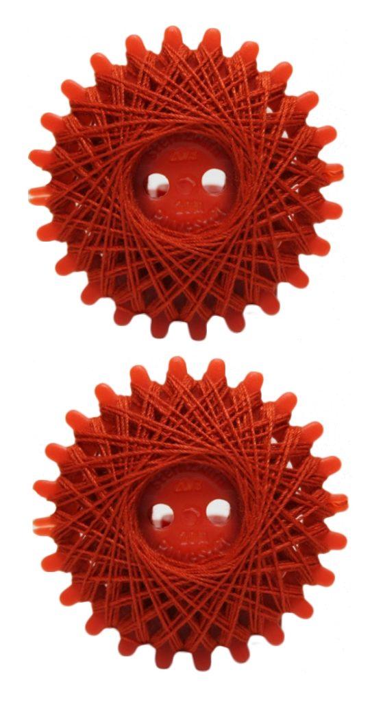 Sternzwirn Polyester 20/3 20m rot 2 Stück (1068)