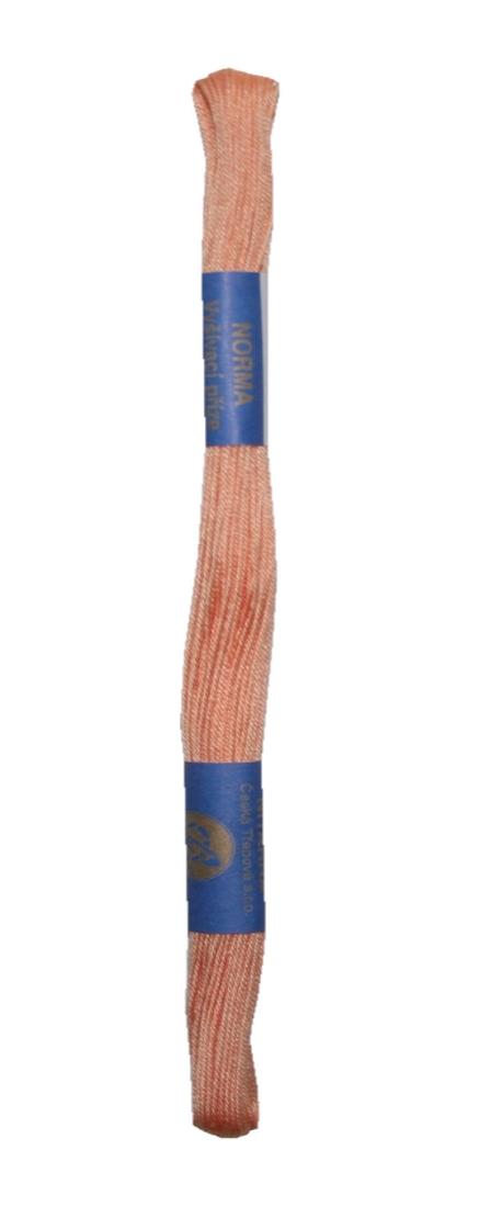 Stickgarn Stickfaden Norma 100% Baumwolle 15 m aprikose (2732)