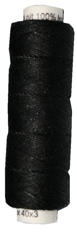Leinengarn 100% Leinen 40x3 schwarz 50 m (2002)