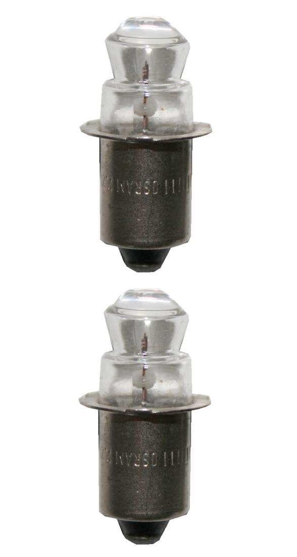 Glühlampe Glühbirne Breitlinse 2,2V 0,3A 2 Stück (8226)