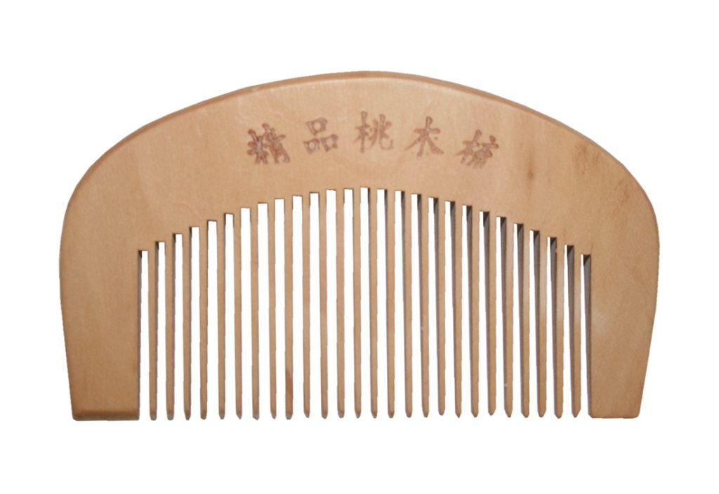 Kamm Bambus 90 x 52 mm Antistatisch Natur (9016)