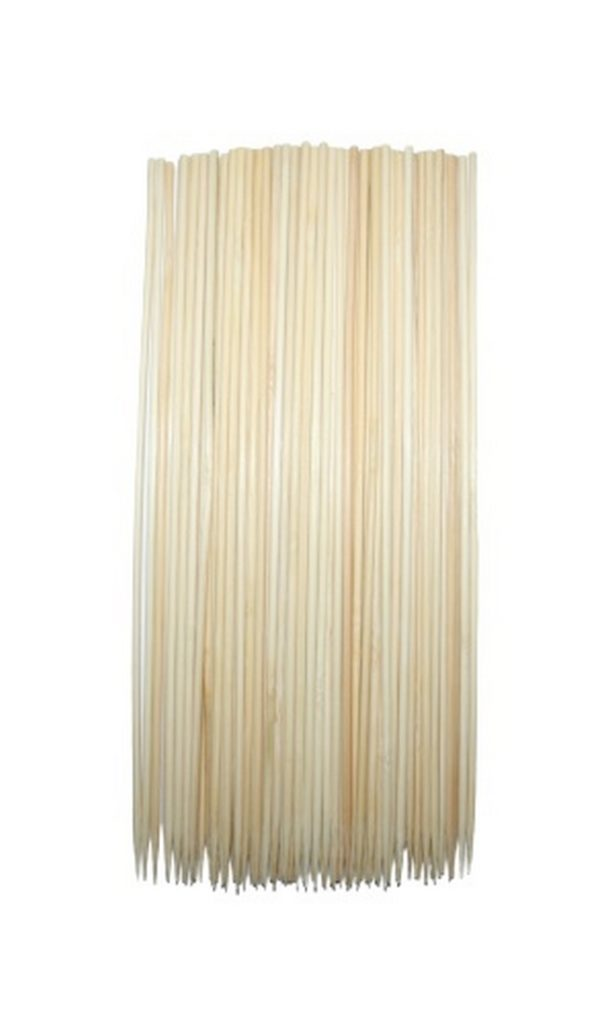 Bambus Grillspieße Schaschlikspieße Holzspieße Grill 100 Stück (9025)