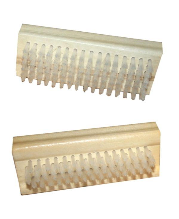 Nagelbürste Handbürste aus Holz doppelseitig Natur (9691)