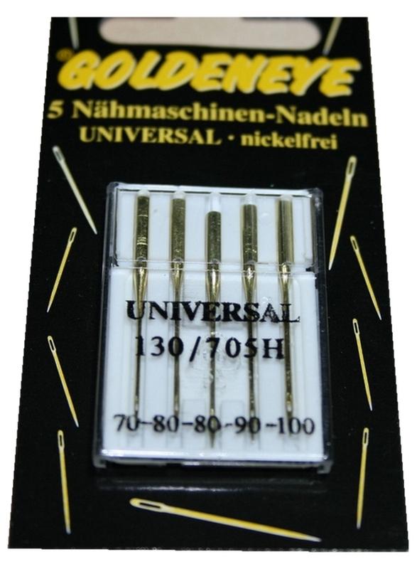 Nähmaschinennadeln Universal nickelfrei 5 St. 70 -100