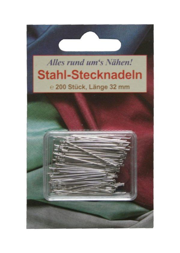 Stahlstecknadeln Stecknadeln 32mm 200 Stück (9200)