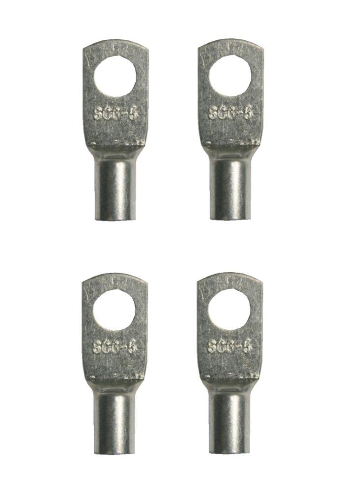 Ringkabelschuhe Kabelschuhe SC6-5 M5 6mm2 4 Stück (0056)