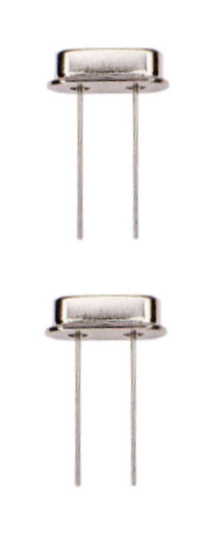 Quarzoszillator Quarz 12 Mhz HC-49S 2 Stück (0033)
