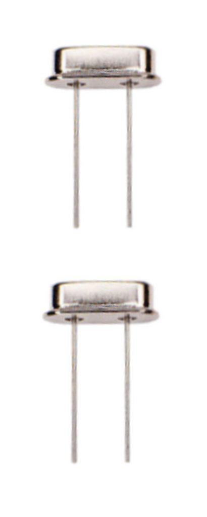 Quarzoszillator Quarz 24 Mhz HC-49S 2 Stück (0036)