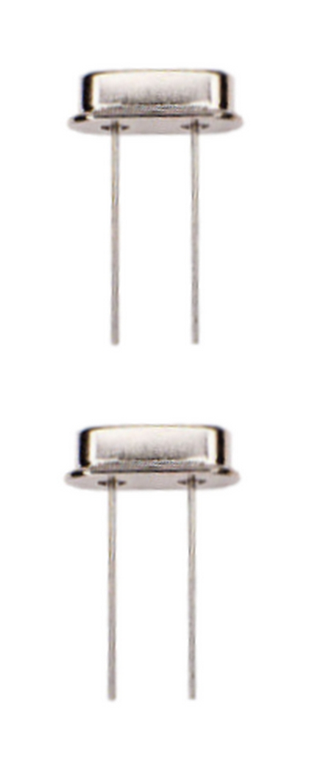 Quarzoszillator Quarz 4 Mhz HC-49S 2 Stück (0028)