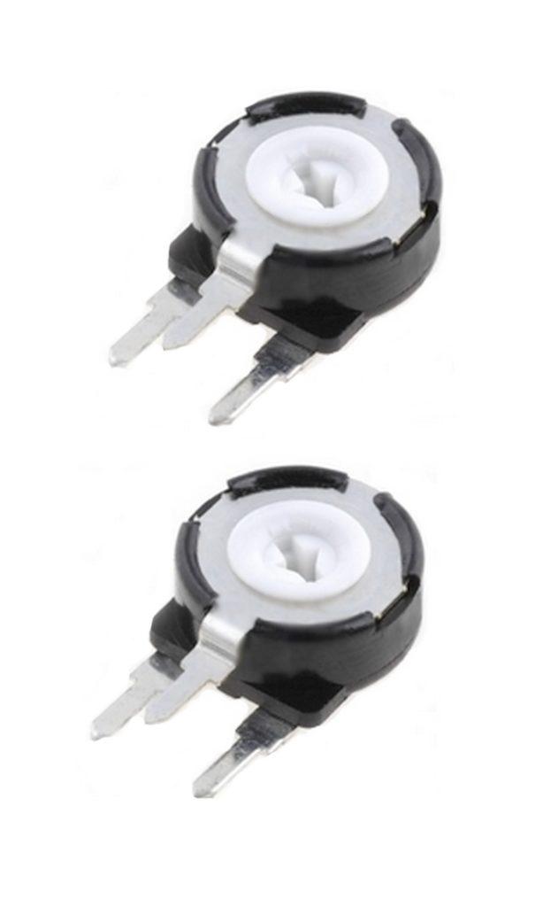 Potentiometer PT-10 Trimmer 50 kOhm 150mW vertikal stehend 2 Stück (0021)