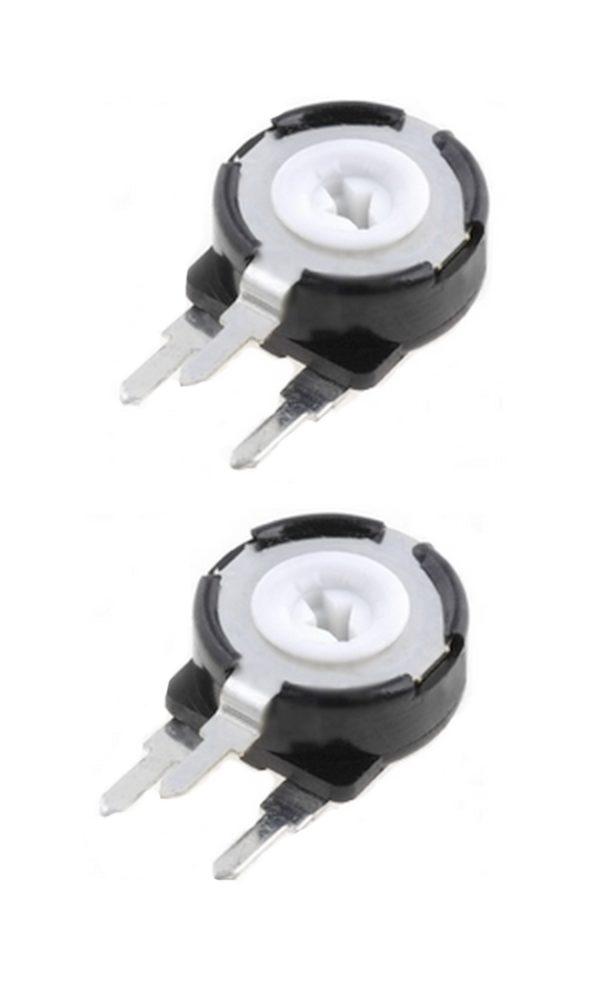 Potentiometer PT-10 Trimmer 500 kOhm 150mW vertikal stehend 2 Stück (0028)