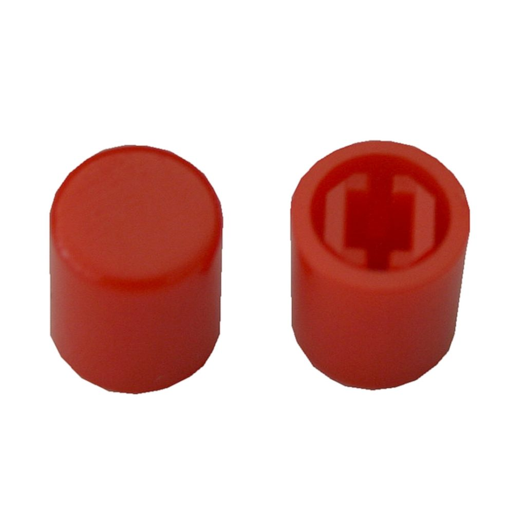 Schalterkappe Gerätekappe Schalterknopf A03 Kappe rot 2 Stück (0063)