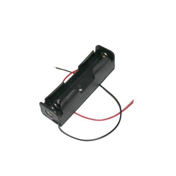 Batteriehalter Halter 18650 mit Kabel 150mm (0080)