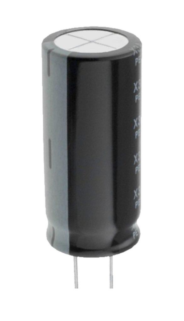 Elko Elektrolytkondensator Kondensator 330uF 200V 105°C (0039)