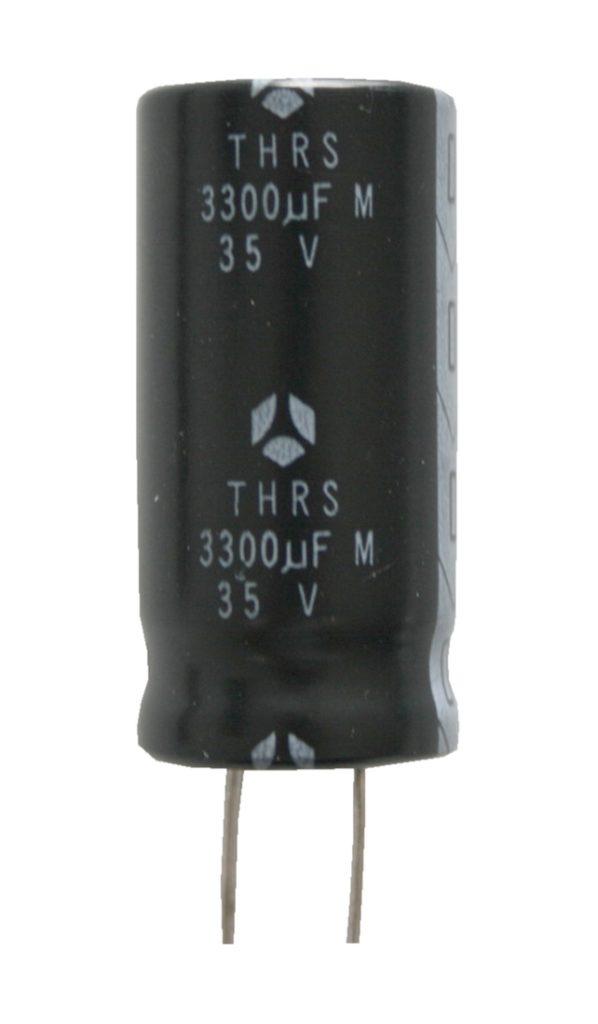 Elko Elektrolytkondensator Kondensator 3300uF 35V 105°C (0052)
