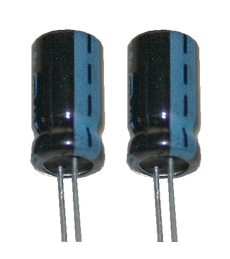Elko Elektrolytkondensator Kondensator 47uF 25V 85°C 2 Stück (2008)