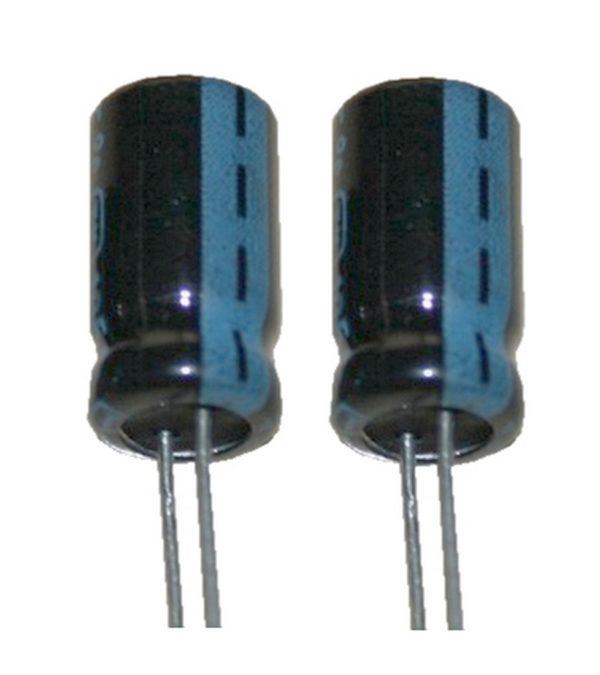 Elko Elektrolytkondensator 10uF 25V Low Impedanz 105°C 2 Stück (1000)