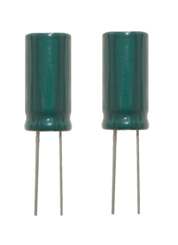 Elko Elektrolytkondensator 100uF 160V Low Impedanz 105°C 2 Stück (1012)