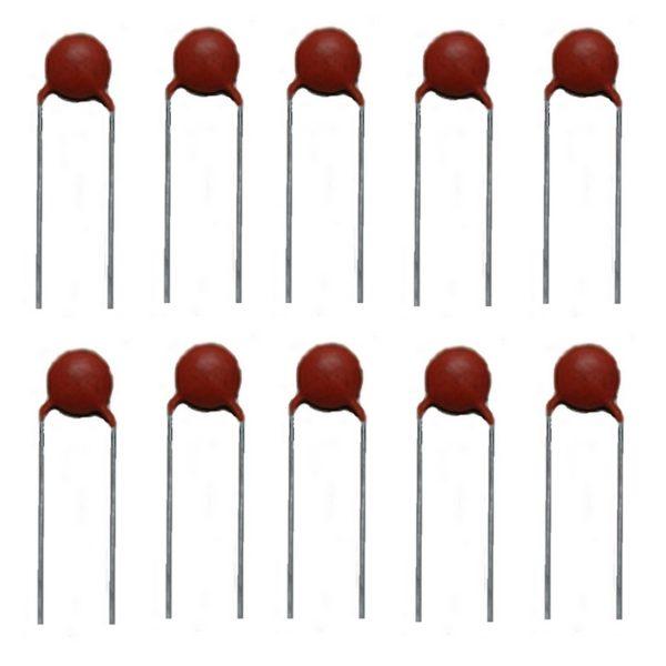 Keramikkondensator Keramik Kondensator 680pF 50V 10 Stück (10022)