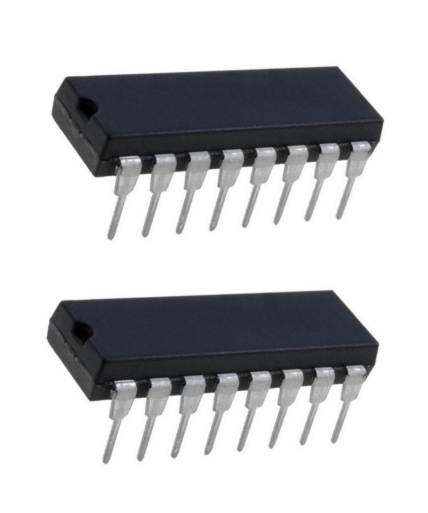 CD4013BE 2 D-Flipflops DIP14 2 Stück (0015)