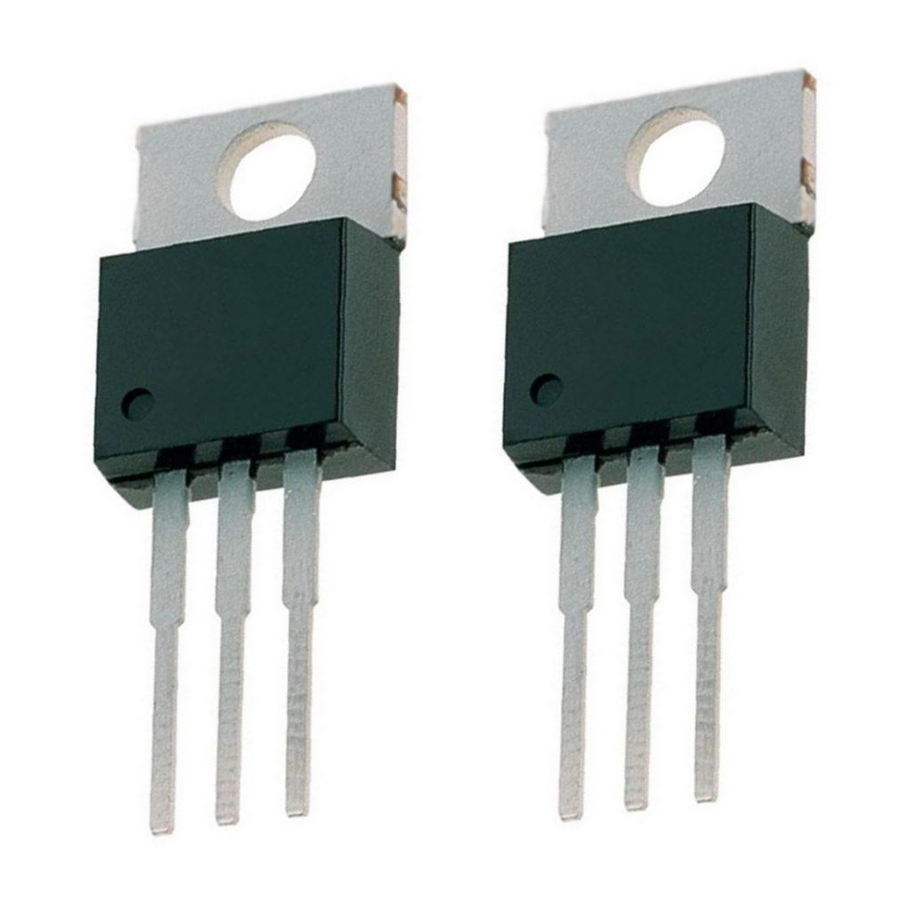 7808 Spannungsregler Festspannungsregler 8V 1A 2 Stück (0034)