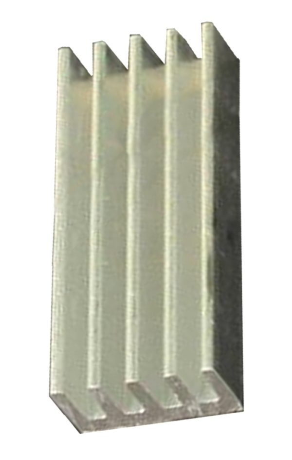 Kühlkörper Aluminium 20x8,8x5 silber (0052)