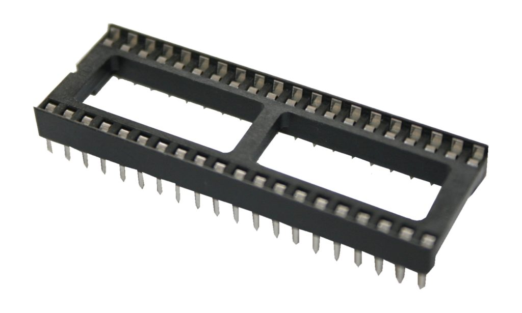 IC-Sockel IC-Fassung 40-polig DIP DIL40 (0066)