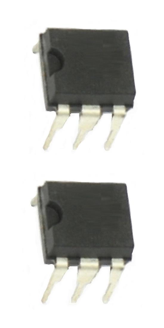 4N35 Optokoppler ein Kanal NPN DIP6 2 Stück (0095)