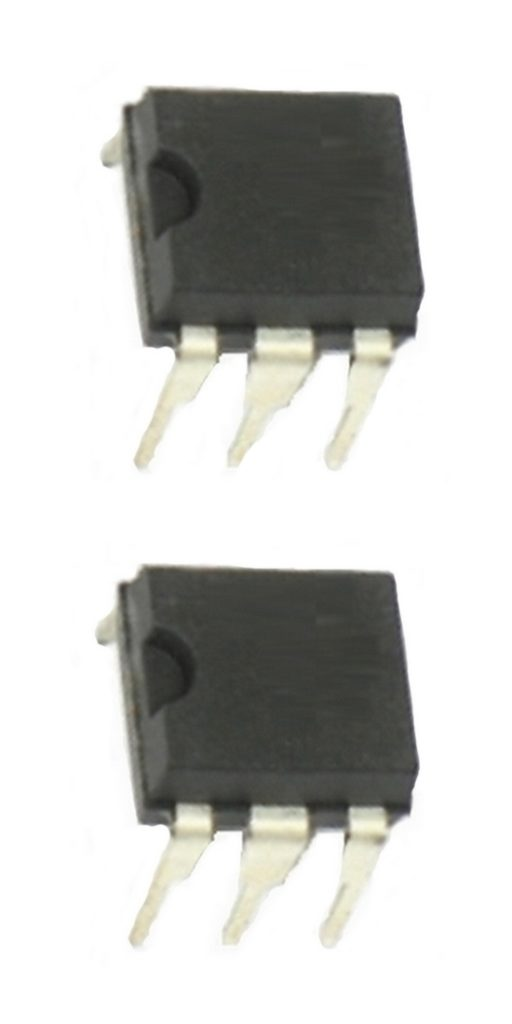 MOC3022 Optokoppler mit Triac Ausgang 2 Stück (0118)