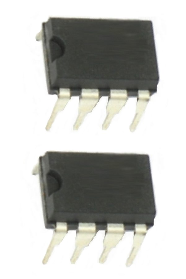UA741 Operationsverstärker 1-fach bipolar 2 Stück (0122)