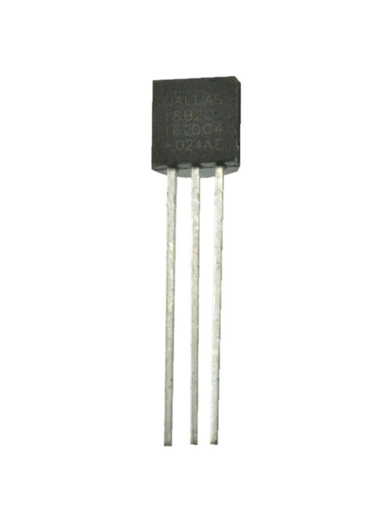Dallas DS18B20 Digital Thermometer 1-wire Temperatursensor (0132)