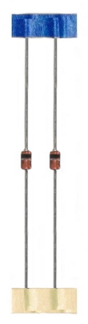 Z-Diode Zenerdiode Diode 6,8V BZX85C 1,3W 2 Stück (0010)